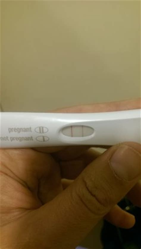 negative pregnancy test at doctors bit positive test at