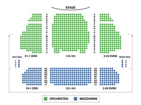 seating for stephen sondheim theatre large broadway seating charts broadwayworld
