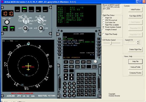 airbus mcdu aid software informer screenshots