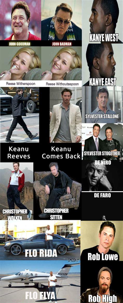 Memes Name - celebrity name puns by mrfishsticks125 meme center