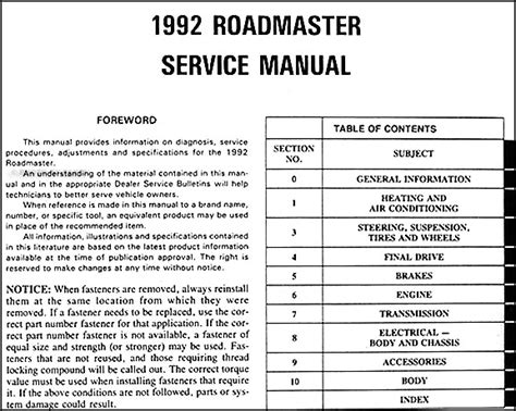 1992 buick century auto repair manual free 1992 buick roadmaster repair shop manual original