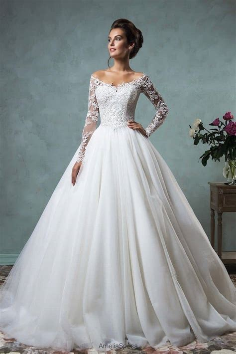 best marriage wedding dresses with sleeves best photos wedding ideas