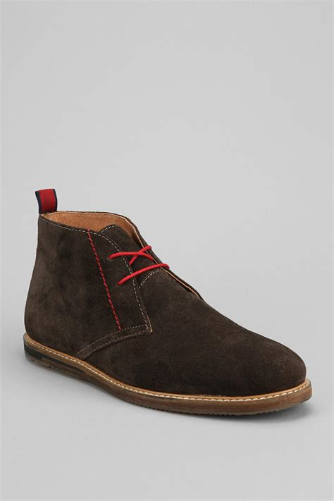 outfitters ben sherman aberdeen suede chukka boot in
