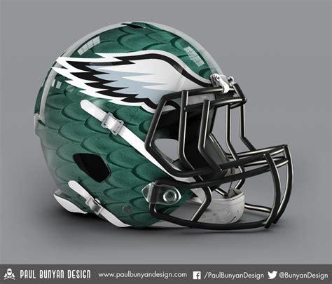 design football helmet logo my take on nfl concept helmets eagles nfl paul bunyan