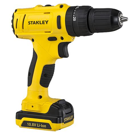 Stanley Scd12s2 Drill Driver Mesin Bor 10 8v 1 5ah Li Ion Stanley Power Tools Cordless Drill Drivers 10 8v 1 5 Ah Drill Driver