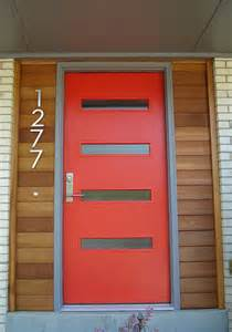 Modern front doors for mid century modern houses 1950 s ranch homes