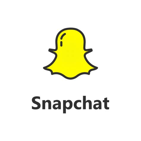 snapchat color text snapchat with text icon free of popular social media