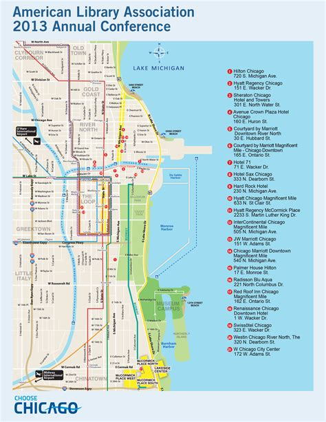 map of downtown chicago downtown chicago map pdf