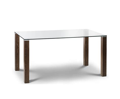 glass and walnut dining table northaven walnut and glass dining table