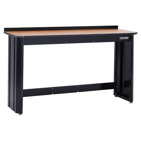 work bench frame craftsman professional 6 ft workbench steel frame black