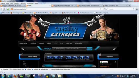 wwe templates for blogger pedido wrestling extreme extreme creating