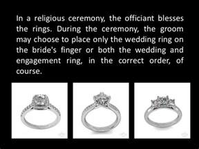 does the wedding or engagement ring go on