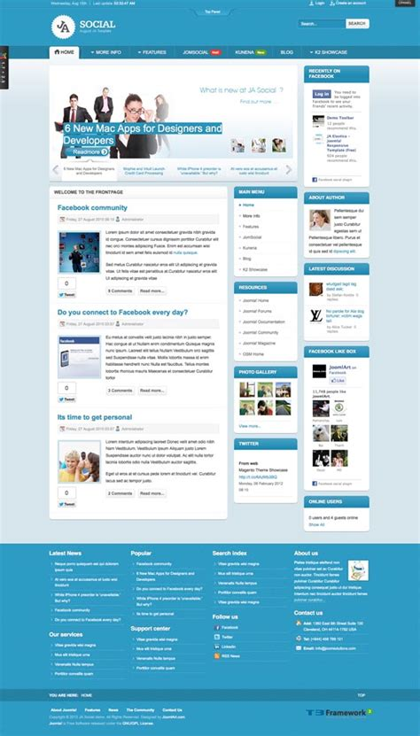 joomla forum template images