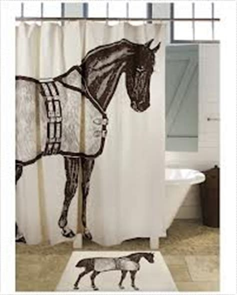 horse shower curtain sets bathroom accessories sets fabric shower curtains
