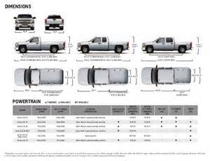 Chevrolet Silverado Bed Size 2013 Chevrolet Silverado Brochure South Jersey Chevrolet