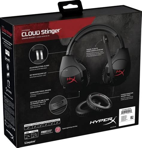 Hyperx Cloud Stinger 1 hyperx cloud stinger gaming headset for pc xbox one ps4