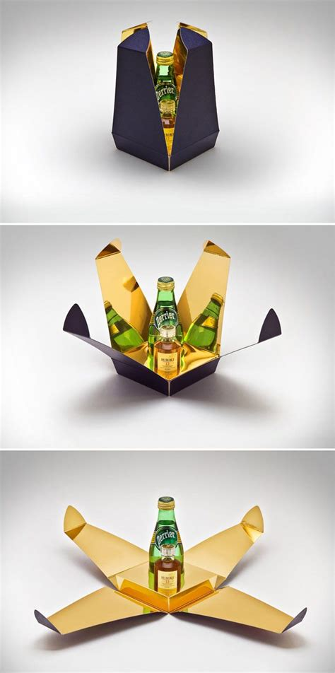 creatively designed suntory hibiki 12 gift pack creative package design
