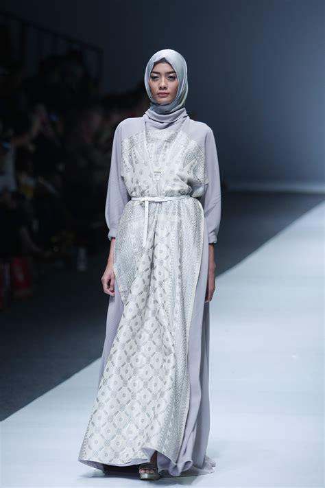 Kaftan Kaftan Ikat Abu Abu 50 inspirasi busana muslim lebaran