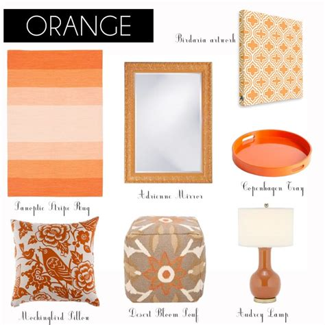 types of orange color 17 best images about color crush orange on pinterest