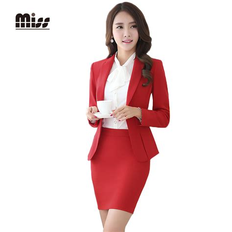 Blouse Dona Merah miss 2016 formal skirt suits work
