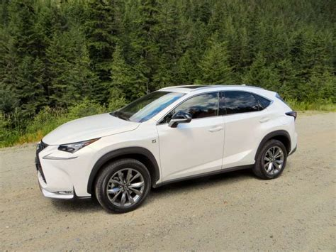 lexus crossover 2015 2015 lexus nx luxury crossover drive and review