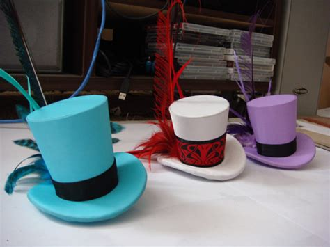 How To Make A Top Hat Out Of Paper - mini top hat tutorial you can totally make these