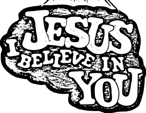 I Believe In Jesus i believe in you clipart clipart suggest