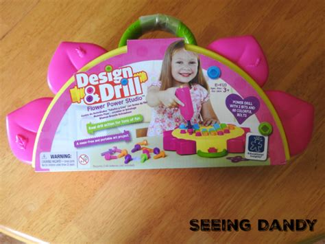 design and drill flower girl power tools giveaway seeing dandy