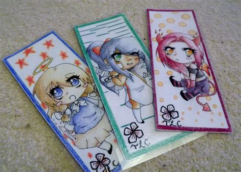 Handmade Bookmarks For Sale - for sale handmade anime bookmarks 1 by