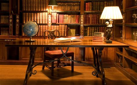 library desk antique books bookshelf desks library objects