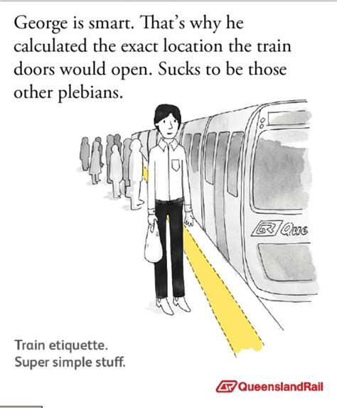 Queensland Rail Meme - image 334285 queensland rail etiquette posters know your meme