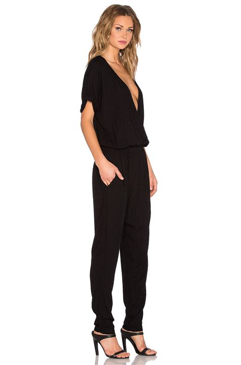 Velvet Sleeve Jumpsuit velvet by graham spencer chandelle damask rayon