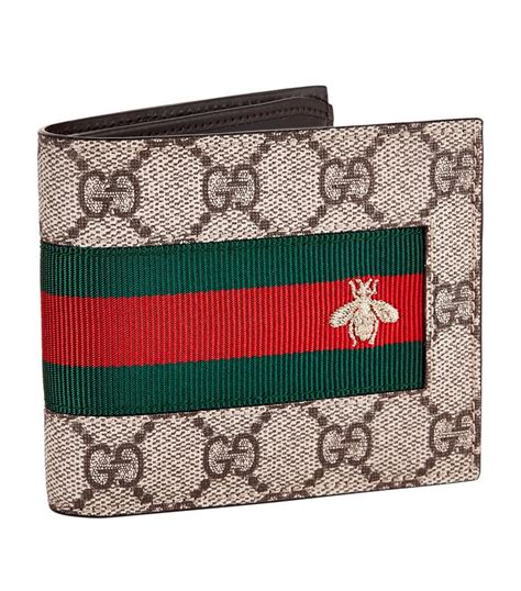 Gucci Amelia Gg Bee Cluth gucci gg supreme bee bifold wallet harrods