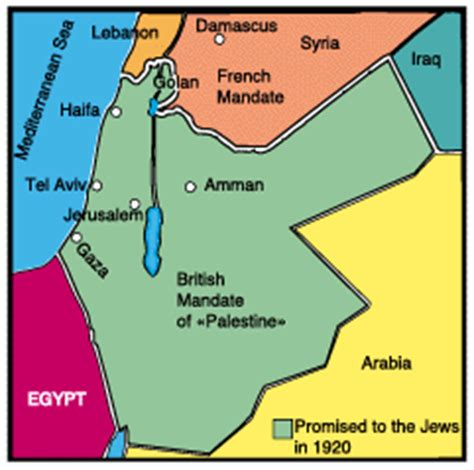 middle east map in 1920 jews return to their homeland israel in the middle east