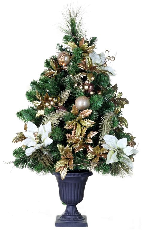 tabletop christmas tree with led lights wedding lights and decorations 3 canterbury battery operated table top potted tree