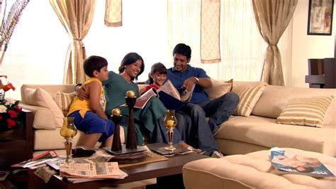 family in living room family reading living room india hd stock video