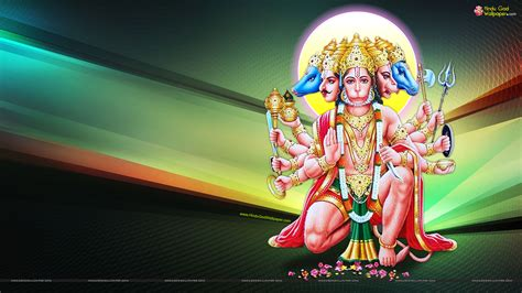 pattern background of hindu god hanuman panchmukhi hanuman hd wallpapers free download