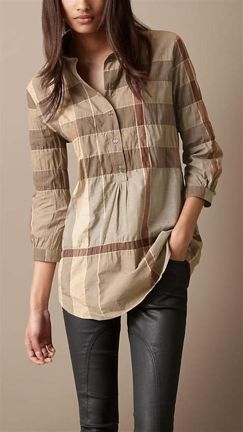 Burbery Tunic burberry brit cotton blend tunic kurta