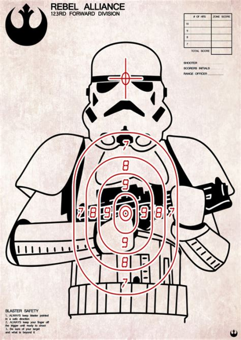 cool printable shooting targets sci fi targets some talented people here page 2