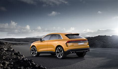 Audi Q4 2020 by Audi S New Q8 To Join Q4 Plus Three New E Trons By 2020