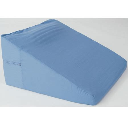 Wedge Pillow Back by Memory Back Wedge With Neck Roll