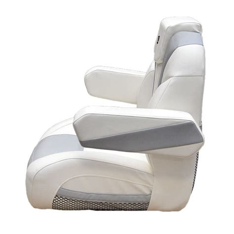 white boat captains chair larson 14 lx white plata reclining boat captains seat