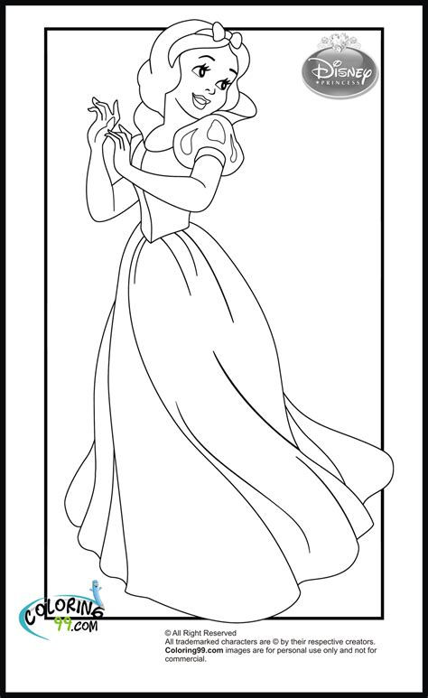 snow princess coloring pages disney princess coloring pages minister coloring
