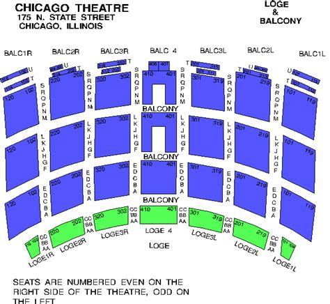 chicago theater floor plan venue seating charts 100 3 wshe fm chicago