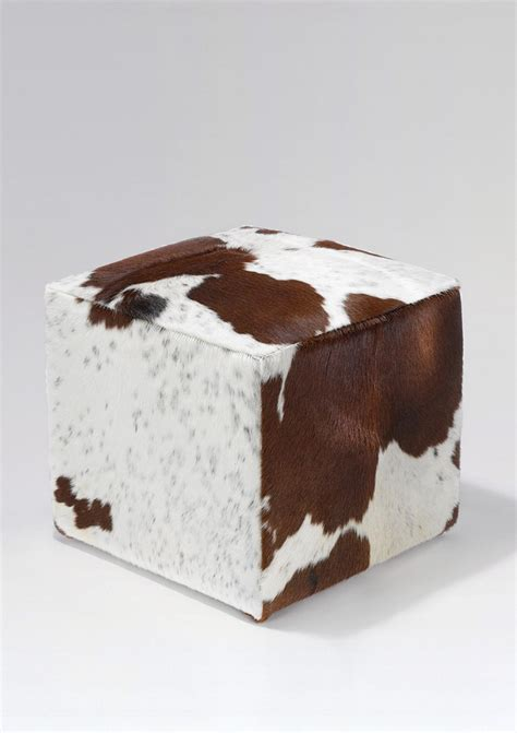 cowhide ottoman ikea 63 best cowhide leather images on cow hide