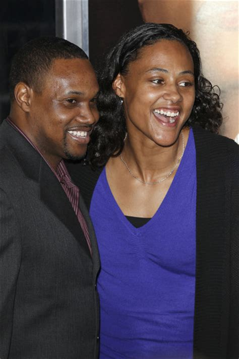Marion Jones in Celebrities Attend the 'For Colored Girls ... Janet Jackson 2017 Husband