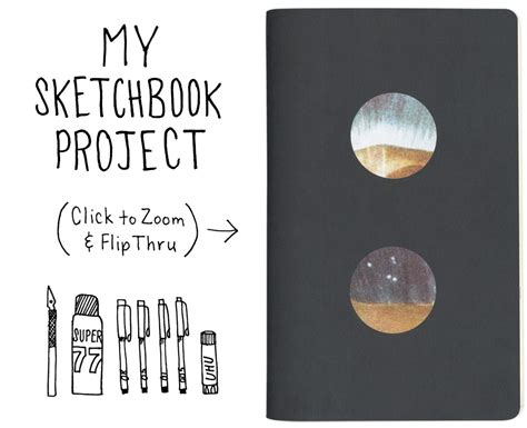 how to make sketchbook sketchbook project 2011 things that stick bureau of