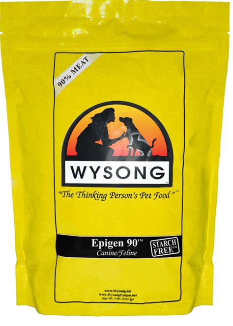 wysong food home food wysong epigen 90 formula starch and grain free chicken and
