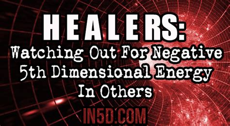 5th Dimensional Energy by Healers Out For Negative 5th Dimensional Energy