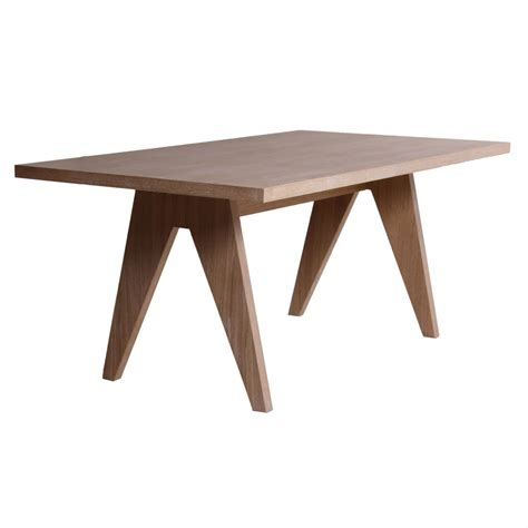 Table De Salle A Manger Rectangulaire by Table De Salle 224 Manger Rectangulaire En Bois Brin D Ouest